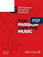 RTE National Symphony Orchestra 2018-2019 Season