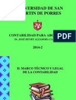 Unidi.2 Marco Tecnico y Legal 2014 2 Usmp