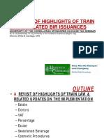 TRAIN Highlights