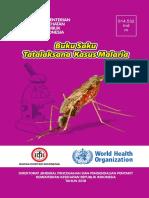 Buku Saku Tatalaksana Kasus Malaria 2018