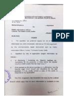 Tis Hazari Court FAA Order on Aadhaar