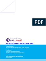 Panduan Penyusunan Modul PoliMedia 2009
