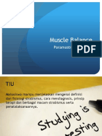 Kuliah Muscle Balance Modul Terbaru