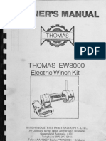 Thomas Winch Owner's Manual
