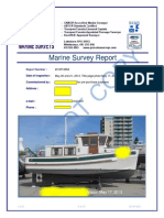 Sample Sundowner 30 Trawler Survey