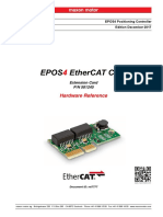 EPOS4 EtherCAT Card Hardware Reference