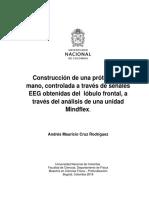 Diseño y Construcción de Un Electroencefalógrafo