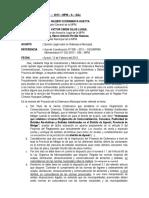 Informe Legal Sobre Ordenanza