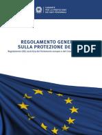 GDPR-Regolamento UE 2016/679.