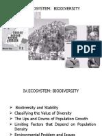 IV Biodiversity