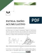 Tema 6. Fatiga - Dano Acumulativo