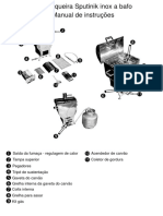 Manual de Instrucoes Churrasqueira Sputinik Inox a Bafo
