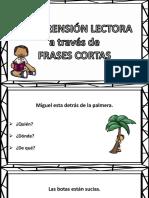Comprensión Lectora Frases Cortas (1)