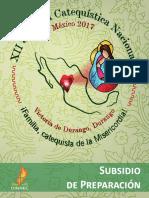 XII Jornada Catequisttica Nacional Subsidio de Preparacion