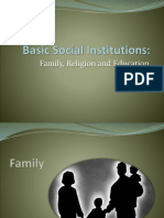 007 Basic Social Institutions - Family(1)