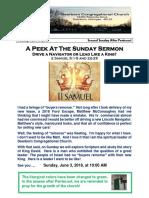 Pastor Bill Kren's Weekly Newsletter - June 3, 2018
