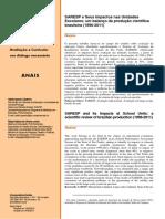 Avaliação SARESP ProdCientífica Artigo