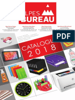 Catalogue Alpes Bureau 2018
