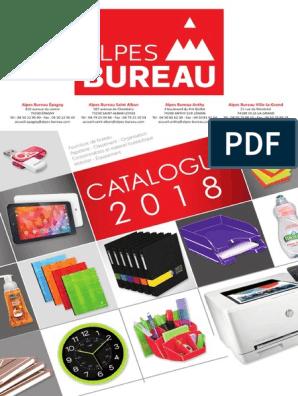 Catalogue Alpes Bureau 2018   Papier   Couleur