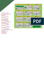 Feriados y Calendario 2018 Bolivia