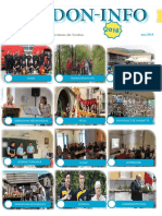 Le journal PDF du mois de mai de l'association Verdon info