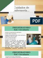 Cuidados de Enfermería Artroscopia de Rodilla