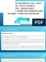 Huella Hidrica-ppt Irrigaciones Corregida