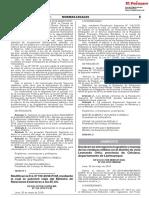 RESOLUCION MINISTERIAL N° 209-2018-MINAM