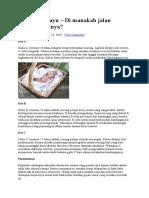 Rencana Pembuangan Bayi