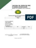 Anexo 1. Proyecto de Investigacion
