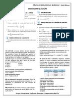 CÁLCULOS E GRANDEZAS QUÍMICAS.docx