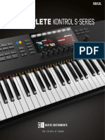 Komplete Kontrol s Series Mk2 Sw 1 9 1 Manual English
