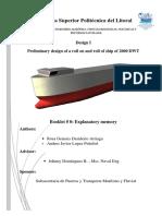 Dimensionamiento buque RORO