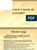 Teorias Da Evolucao