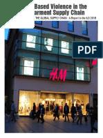 Gender Base Violence on H&M supplier