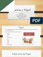 Cartón y Papel