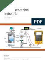 Instrumentación Industrial SEMANA 2