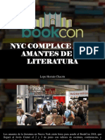 Lope Hernán Chacón - NYC Complace a Los Amantes de La Literatura