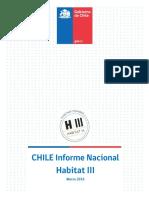 Chile Informe Nacional Habitat III 1