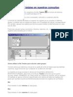 Calculo de Totales en Consultas Access 97