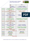 Torneo Fiestas El Tiemblo 2018 Cuadro Competición