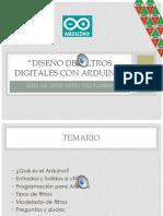 Diseño de Filtros Digitales Con Arduino Por XE2N Jesus Lopez