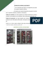 Tableros de Control Eléctricos