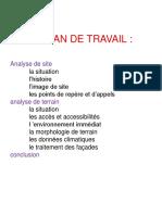 Analyse de Terrain Centre Ville de Jijel