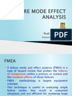 Failure Mode Effect Analysis New