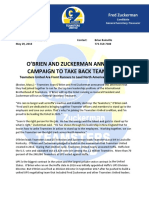Sean O'Brien Announcement To Run For Teamsters Presidency