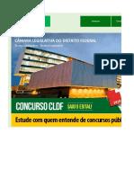 Edital Verticalizado CLDF 2018