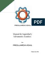 Manual Guardavidas 2016