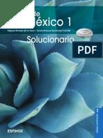 6906_Historia de México 1 SOLUCIONARIO