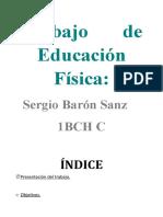 Trabajo E.F. Sergio Barón Sanz